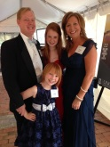All dressed up for the Lineberger Gala