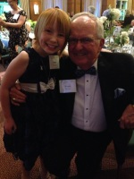 Ash with the legend Woody Durham