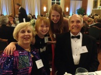 My girls with Ray and Carol Hutchins