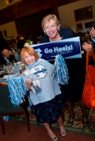 Ash with Sylvia Hatchell, UNC Women's Basketball Coach