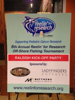 Reelin' for Research Party